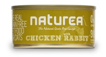Naturea GF cat vlhké - Chicken, Rabbit 80g - doprodej