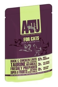 AATU Cat Duck & Chicken Liver kaps. 85g